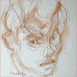 Amador, Le petit frère, 18x24