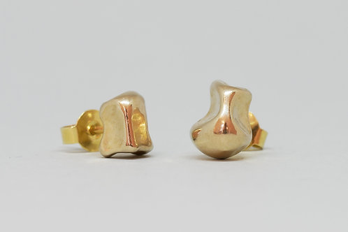 "Earrings ""Coral Embrace mini"""