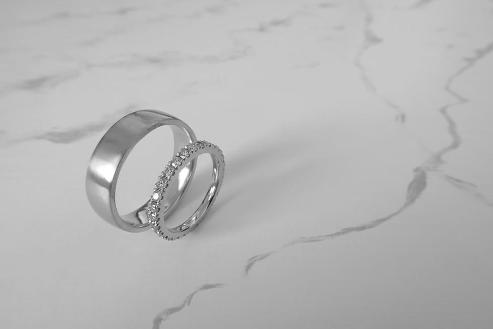 Wedding rings H&S