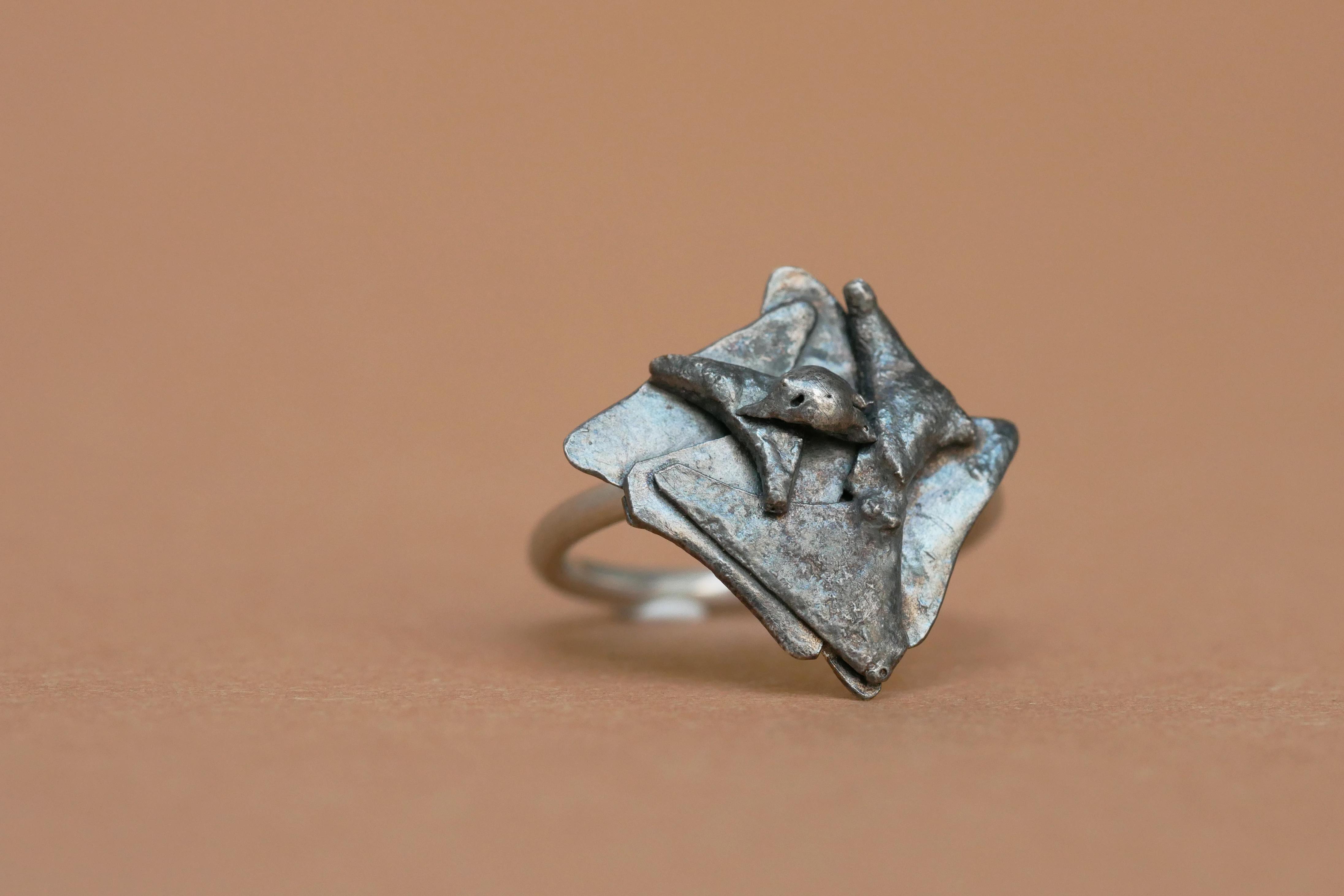 TUKOA-Tu me fais fondre-Ring schwarz