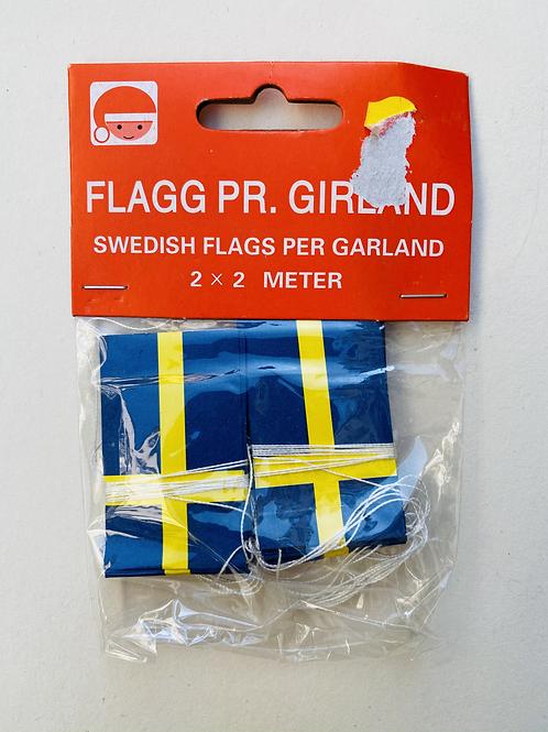 Guirlande drapeaux Suède
