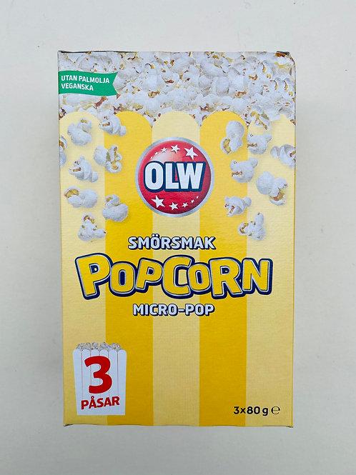 Popcorn au beurre
