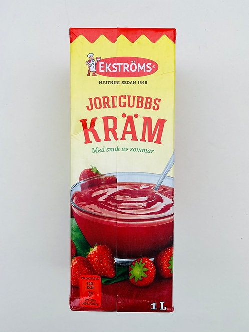 Crème  de fraise