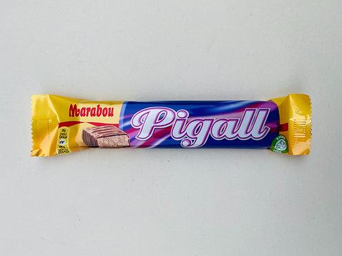 Barre chocolatée Marabou Pigall