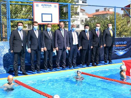 Gençlik ve Spor Bakanı Dr. Mehmet Muharrem Kasapoğlu Balıkesir'de