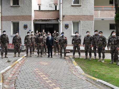 Polis Meslek Eğitim Merkezi ve Özel Harekat Şube Müdürlüğüne Ziyaret