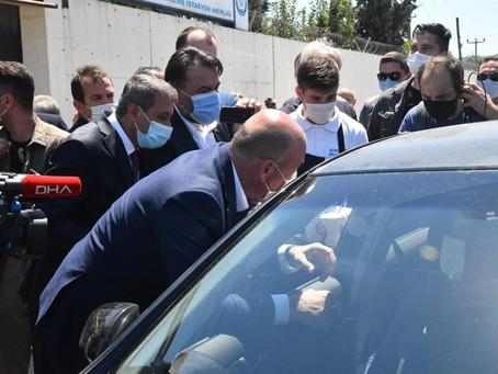 İçişleri Bakanı Süleyman Soylu Susurluk'ta Trafik Denetimi Çalışmasına Katıldı
