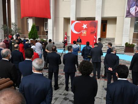 Balıkesir'de 29 Ekim Cumhuriyet Bayramı Coşkuyla Kutlandı