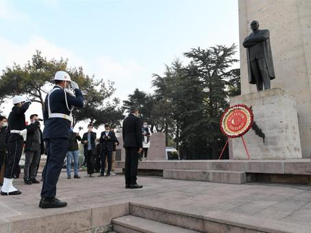 Gazi Mustafa Kemal Atatürk Balıkesir'de Anıldı