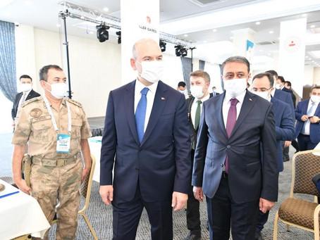 İçişleri Bakanımız Suriye Görev Gücü Degerlendirme Çalıştayında