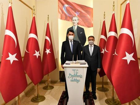Çevre ve Şehircilik Bakanı Murat Kurum Balıkesir'de