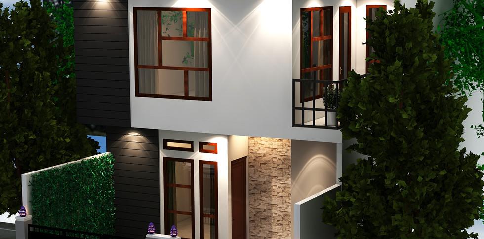 Illusion Studios - KG House - Tampak Depan