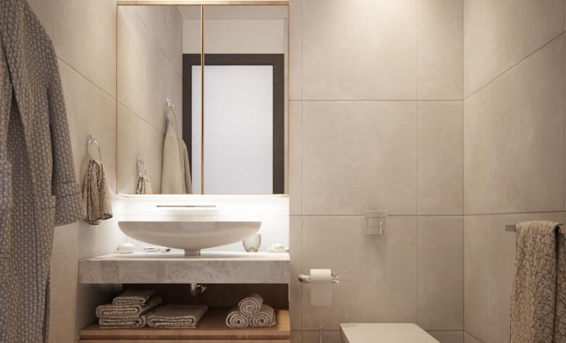 Toilet Lantai 1- Residence Pelepah Asri.