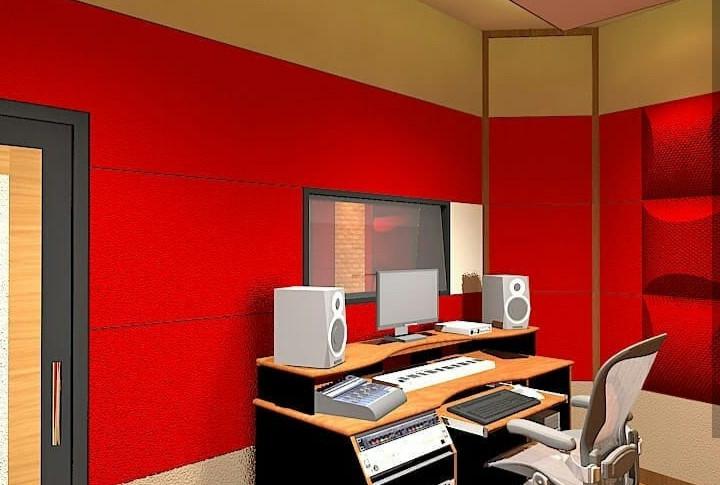 RK Studios - Konstruksi Studio Musik - Ruang Operasional