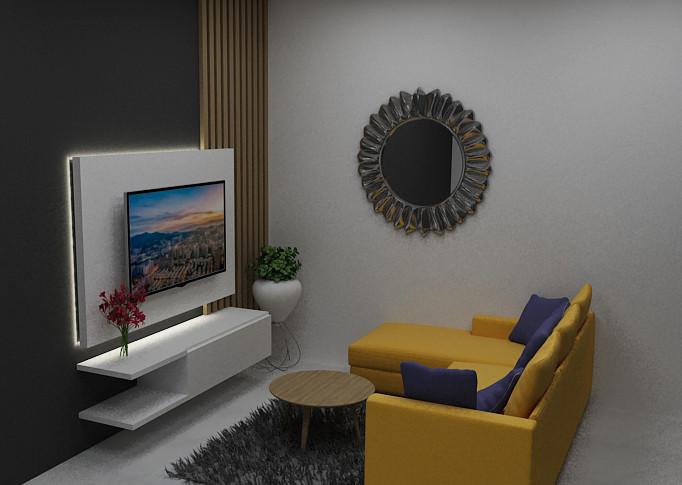 Illusion Studios - Rumah MM - Ruang Keluarga