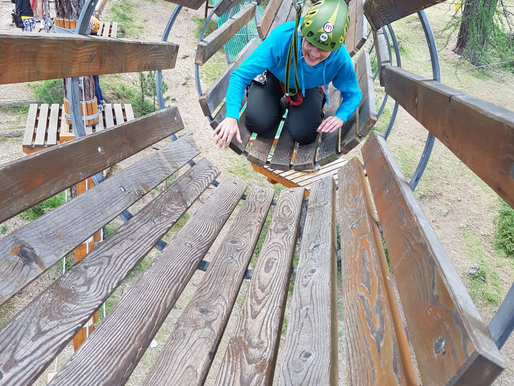 How Obstacles and ZIP lines can help you with personal development