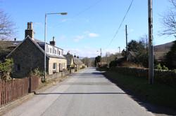 The Road at Ivy Cottage Balnaguard