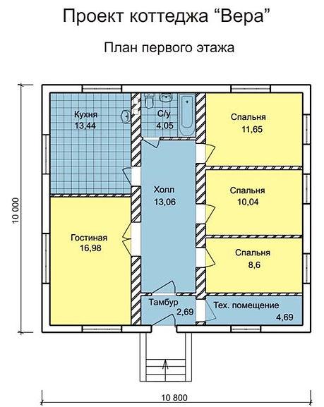 Дом из теплоблоков Саратов по системе Теплостен