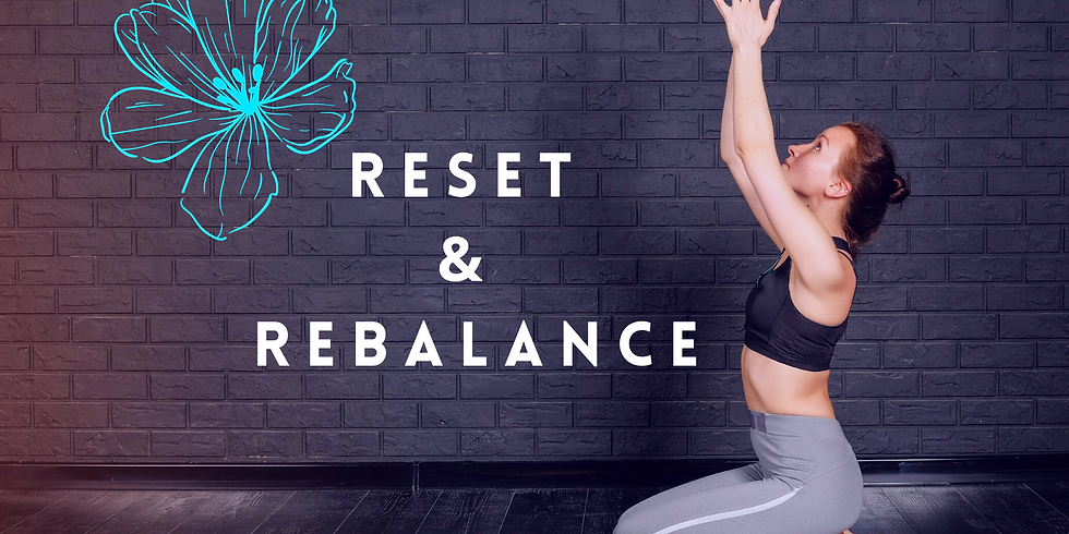 2020 Reset and Rebalance Virtual Workshop *FREE*
