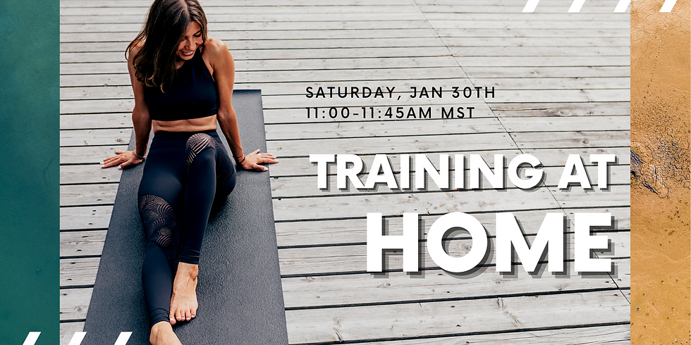 Coffee with Coach: Training at Home - FREE