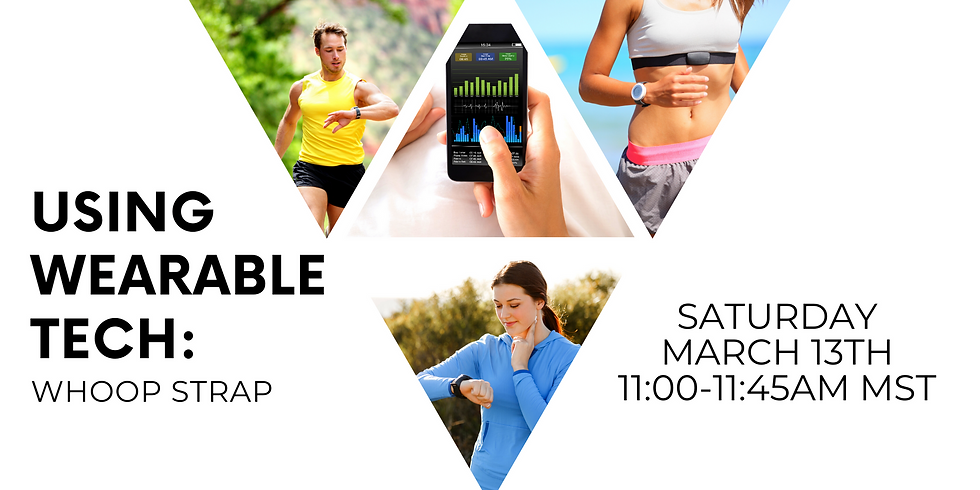 Coffee with Coach: Using Wearable Tech (Whoop) - FREE