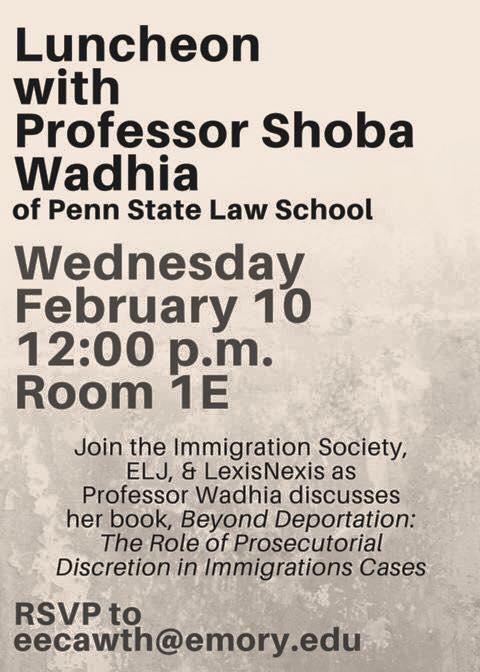 Emory Law Book Talk