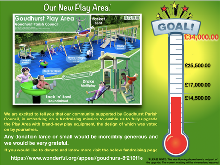 Fund raising for Goudhurst Play Area