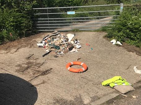 Fly tipping in Kilndown
