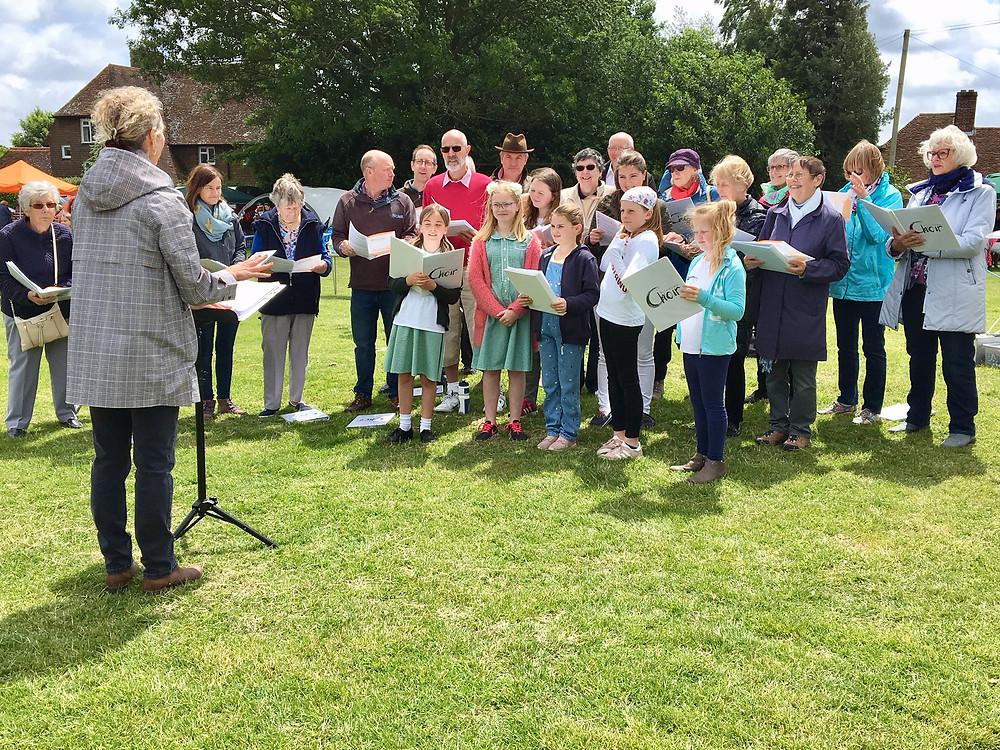 kilndown community choir singing
