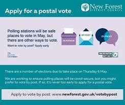Elections postal vote