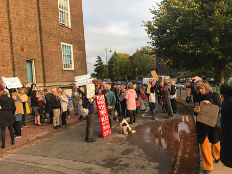 Tunbridge Wells protests again!