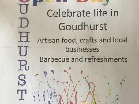 Goudhurst Open Day - a  date for your diary
