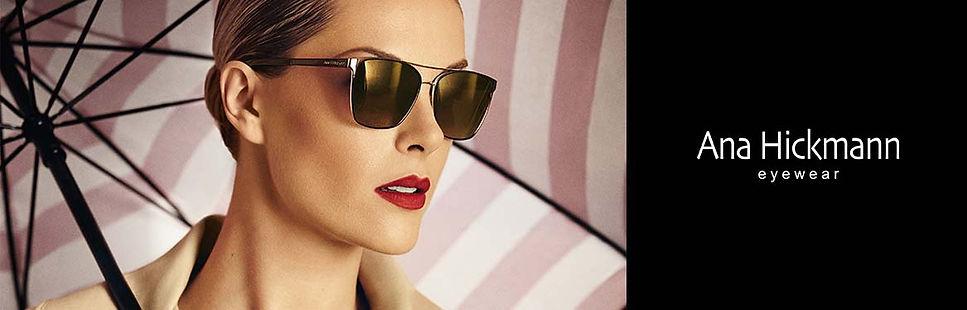 Ana Hickman eyewear coleção de óculos escuros e de grau para comprar na Ótica Villalta em São José e Tremembé