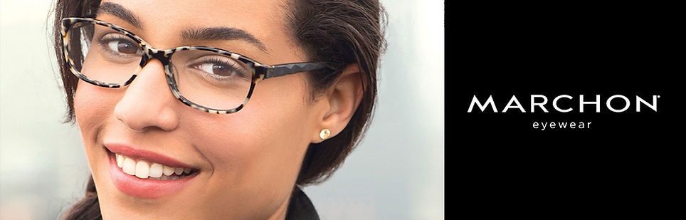 Óculos de Grau Marchon Eyewear New York você encontra na Ótica Villalta em Tremembé e São José