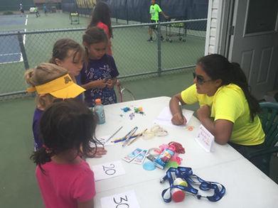 Twin City tennis camp fun