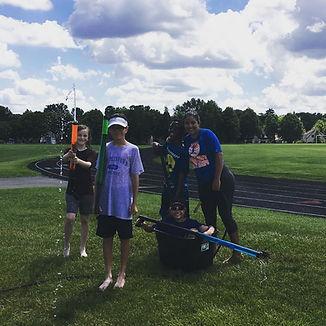 Tennis camp activities
