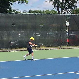 Tennis lessons groundstrokes