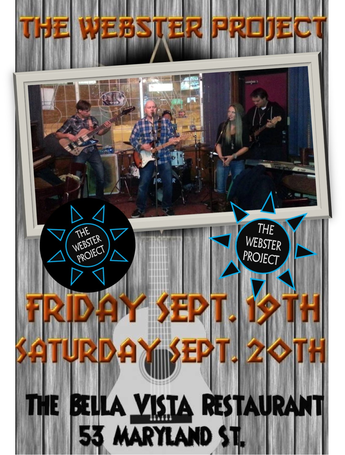 Bella Vista Sept 19 and 20