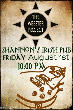 Shannon's Irish Pub Poster