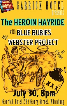 WP with Heroin Hayride @ Garrick