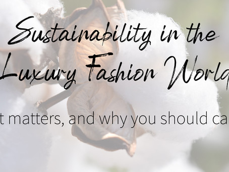 Sustainability and Luxury CAN Go Hand in Hand