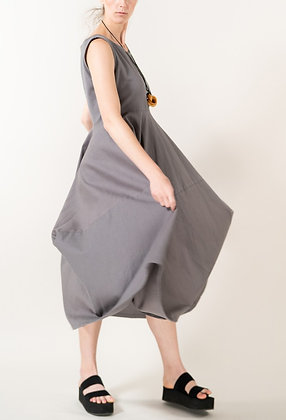 Dana Sabai Dress in Grey