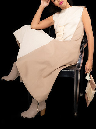 Naturales Bright Day Dress in Beige