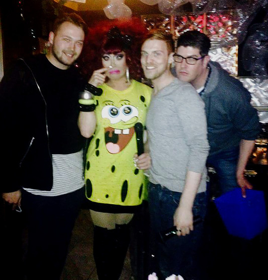 Co-Hosting Rupaul's Drag Race Viewing Party with Phi Phi O'Hara