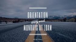 NextGen Weekly Orientation Sessions