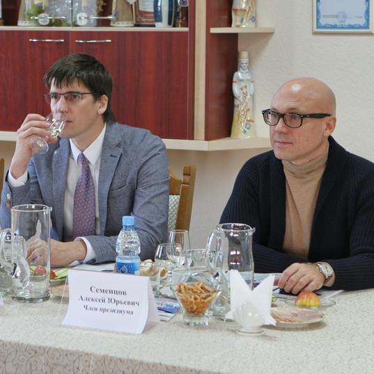 Pushkar Alexander Alexandrovich, member of the Presidium. Sementsov Alexey Yuryevich, member of the Presidium.