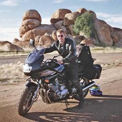 Solo around Australia