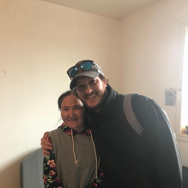 Michael volunteering in Alaska