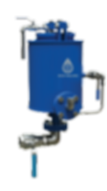 ECO-VALVES.COM The ECO valve model TOO is a specific gravity sensitive valve,  for automatic draining of a heavier liquid from a lighter liquid.