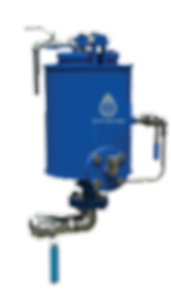 ECO-VALVES.COM The ECO valvemodel TOOis a specific gravity sensitive valve,  for automatic draining of a heavier liquid from a lighter liquid.